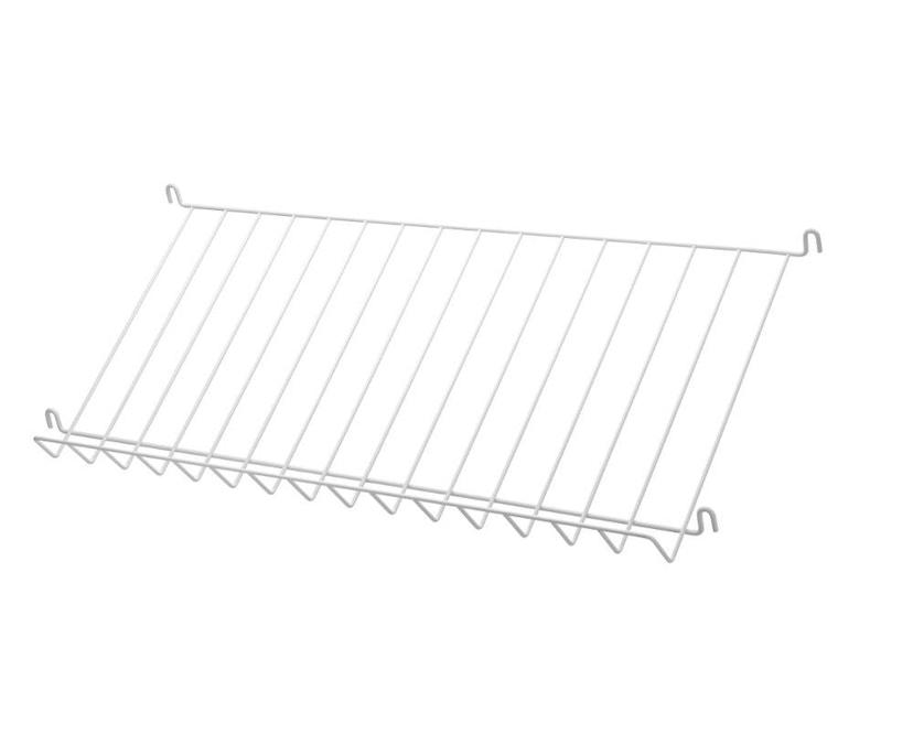 String - Zeitschriftenablage Metall - weiß - 1
