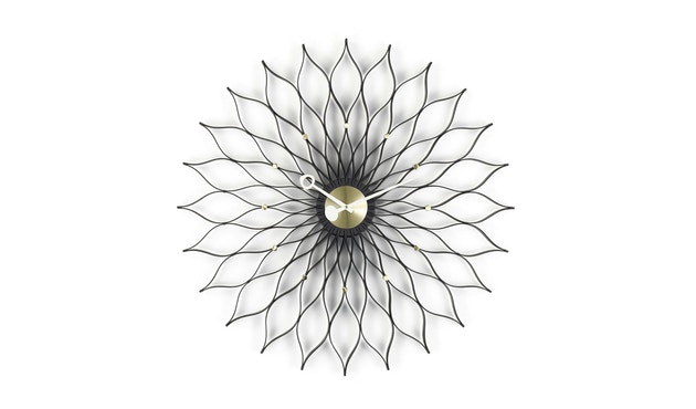 Vitra - Sunflower Clock - Es zwart - 1