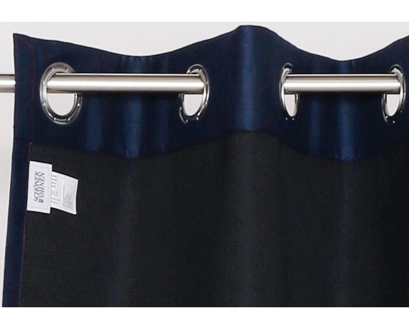 SCHÖNER WOHNEN-Kollektion - Amelie Ösenschal 140x250cm - bordo-nachtblau - 2