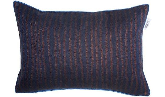 SCHÖNER WOHNEN-Kollektion - Aurelie Zierkissenhülle ohne Füllung 38x58cm - nachtblau - 1
