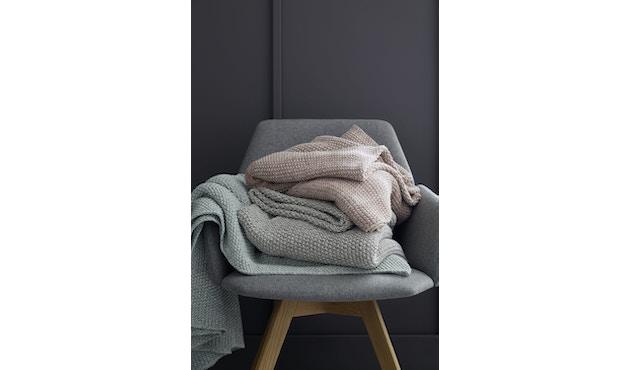 SCHÖNER WOHNEN-Kollektion - Melange Plaid Decke - mint - 2