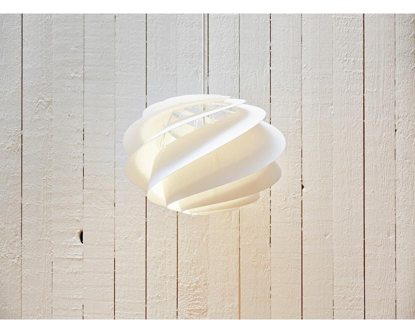 Le Klint - Swirl 1 Hängeleuchte - weiß - M - 5