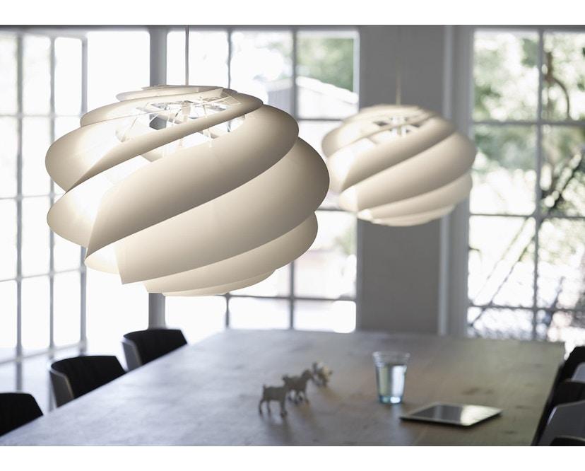Le Klint - Swirl 1 hanglamp - wit - 6
