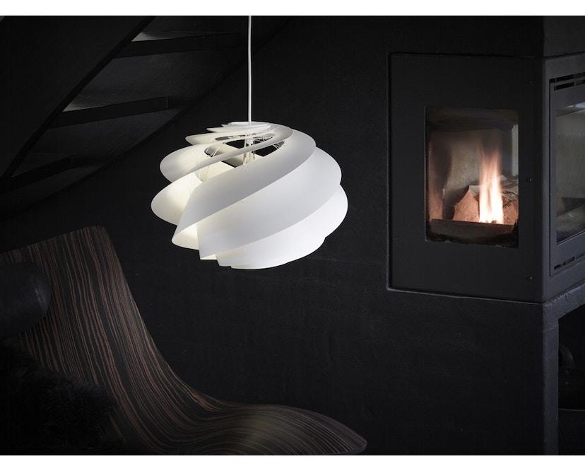 Le Klint - Swirl 1 hanglamp - wit - 8