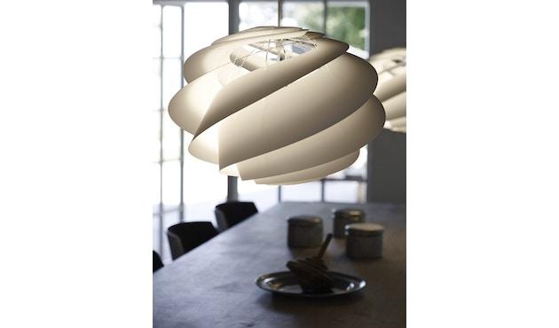 Le Klint - Swirl 1 hanglamp - wit - 9