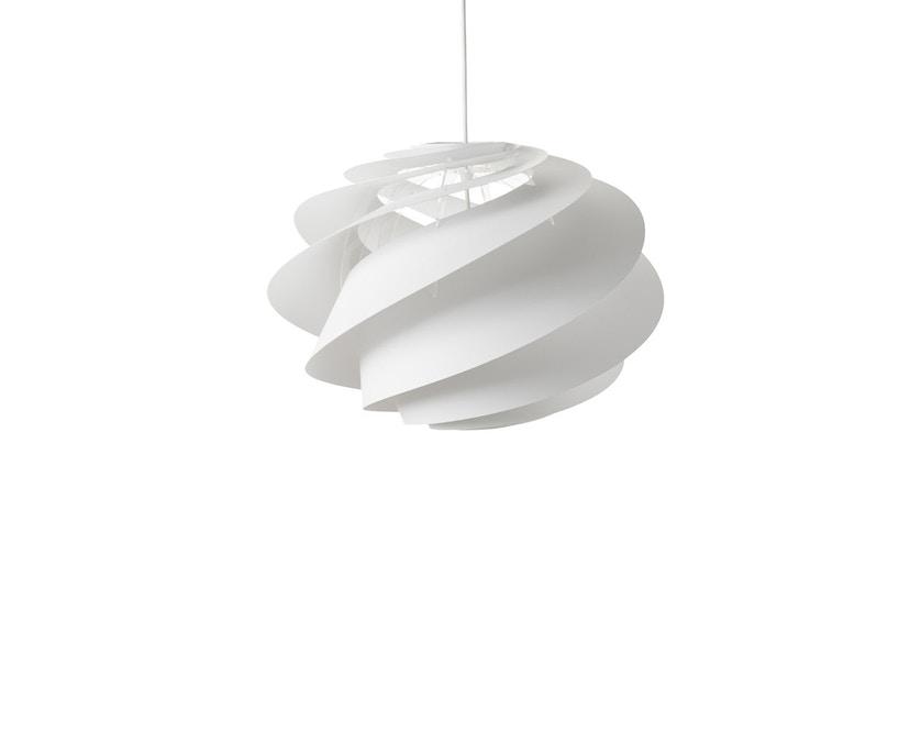 Le Klint - Swirl 1 Hängeleuchte - weiß - M - 1