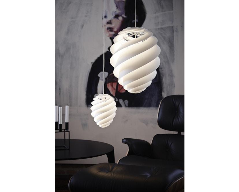 Le Klint - Swirl 2 Hängeleuchte - weiß - S - 8