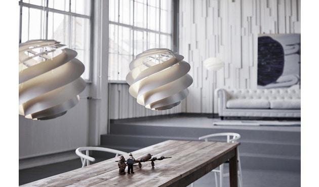 Le Klint - Swirl 3 Hängeleuchte - weiß - M - 4