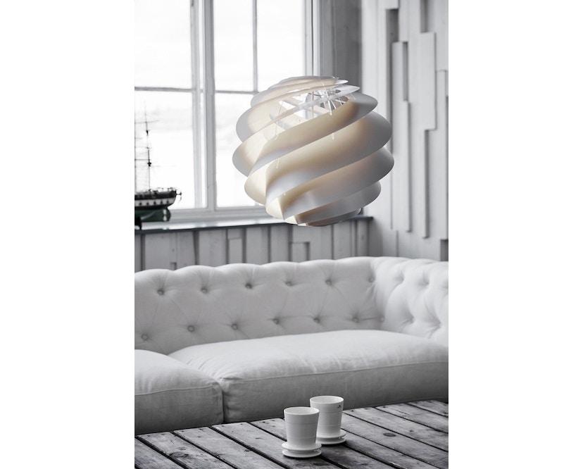 Le Klint - Swirl 3 Hängeleuchte - weiß - M - 5