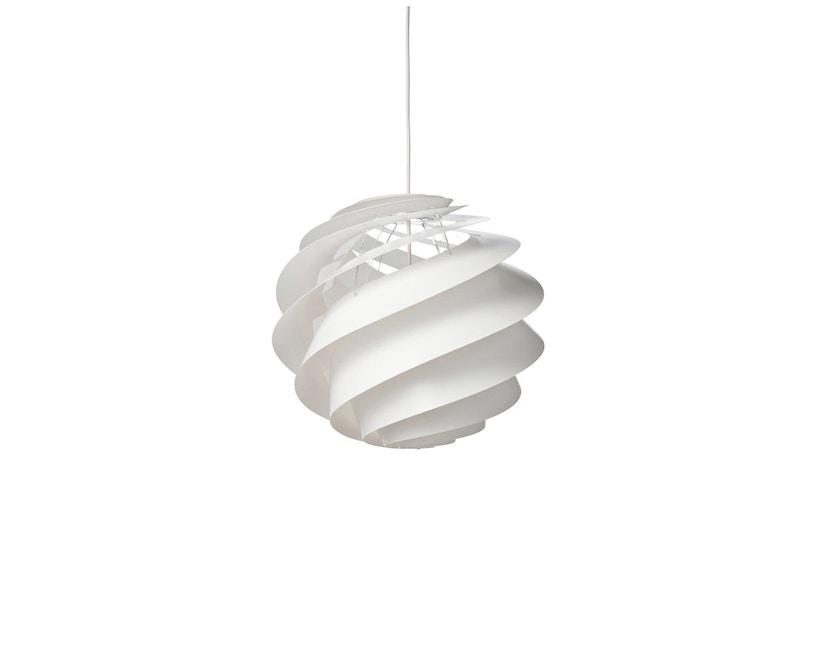 Le Klint - Swirl 3 Hängeleuchte - weiß - M - 1