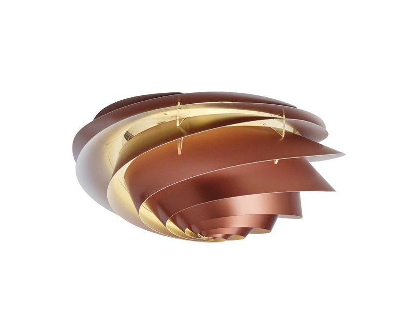 Le Klint - Swirl plafond-/wandlamp - koper - S - 4