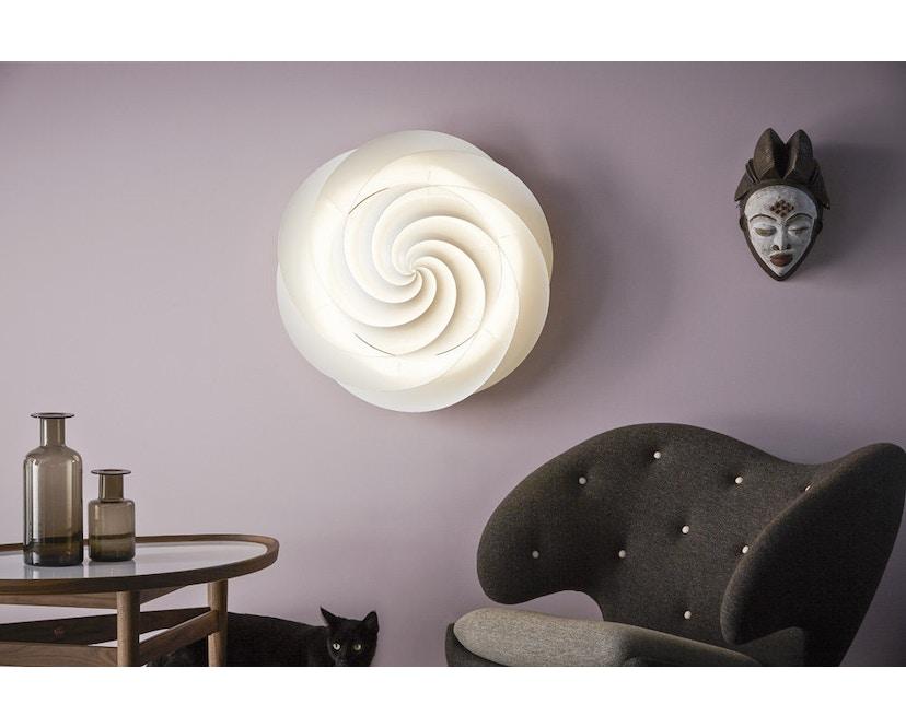 Le Klint - Swirl plafond-/wandlamp - koper - S - 10