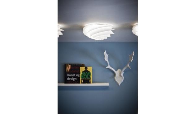 Le Klint - Swirl plafond-/wandlamp - wit - S - 5
