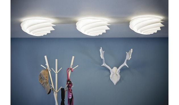 Le Klint - Swirl plafond-/wandlamp - wit - S - 6