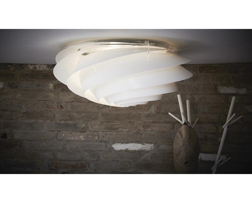 Le Klint - Swirl plafond-/wandlamp - wit - S - 7