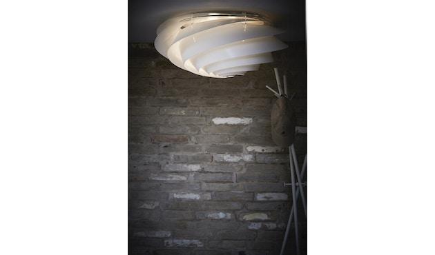 Le Klint - Swirl plafond-/wandlamp - wit - S - 8