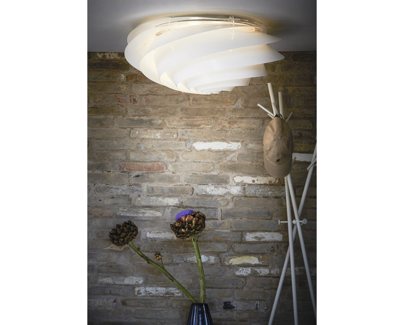 Le Klint - Swirl plafond-/wandlamp - wit - S - 9