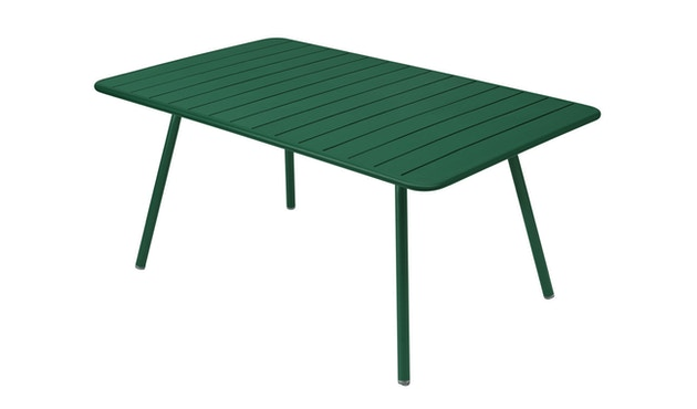 Fermob - Table LUXEMBOURG Comfort 6 - 02 vert cèdre mat - 1