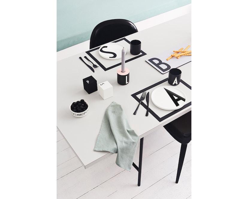 DESIGN LETTERS - Kerzenhaltereinssatz für Personal Porzellanbecher - pink - 2