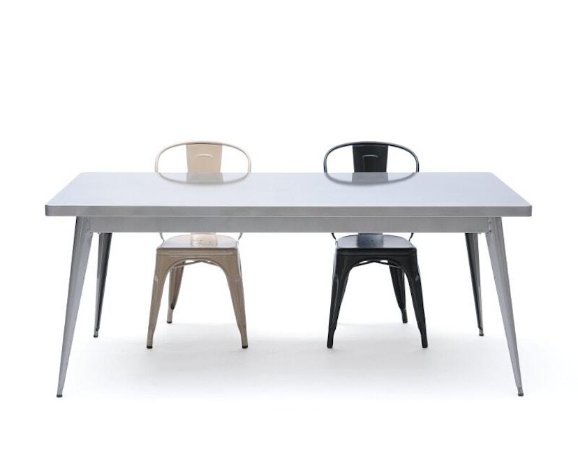 Tolix - 55 Tisch - groß - indoor - kaminrot - 2