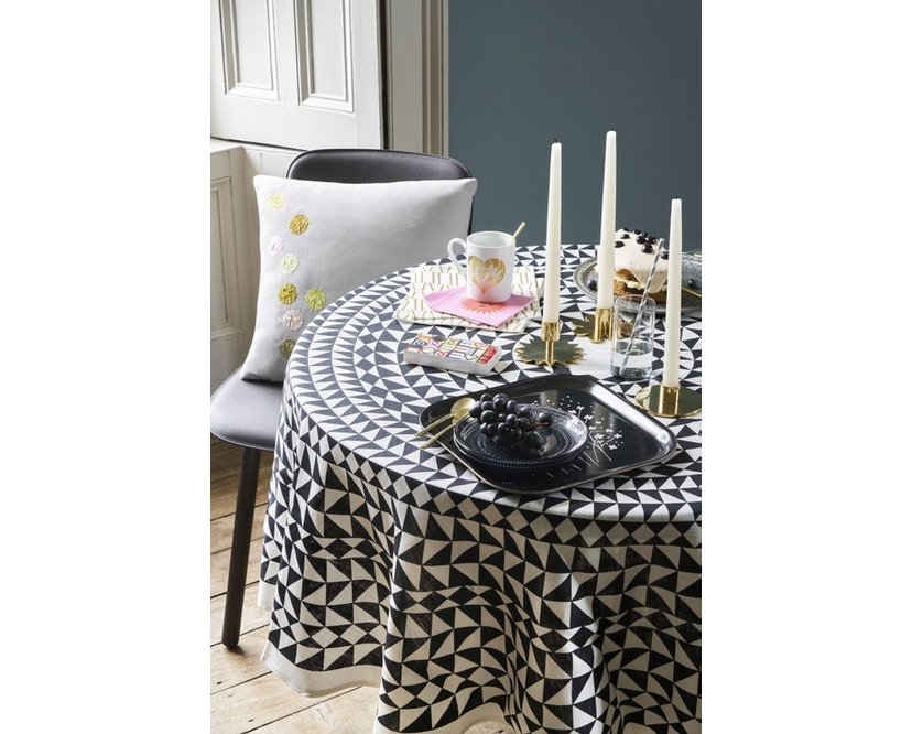 Vitra - Tablecloth  - Geometric schwarz - 4