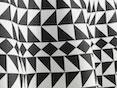 Vitra - Tablecloth  - Geometric schwarz - 1