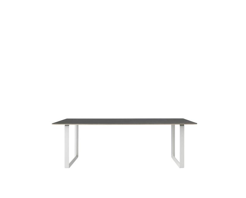 Muuto - Table 70/70 - noir - S - blanc - 4