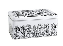 Iittala - Taika Metalen doos zwart wit - 1