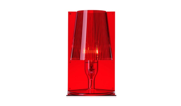 Kartell - Take tafellamp - rood - 1