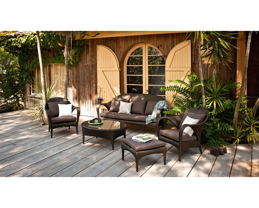 Dedon - Tango 2-Sitzer  Sofa - bronze - 2