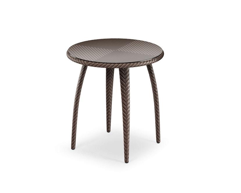 Dedon - Tango eettafel rond 90 cm - brons - 2