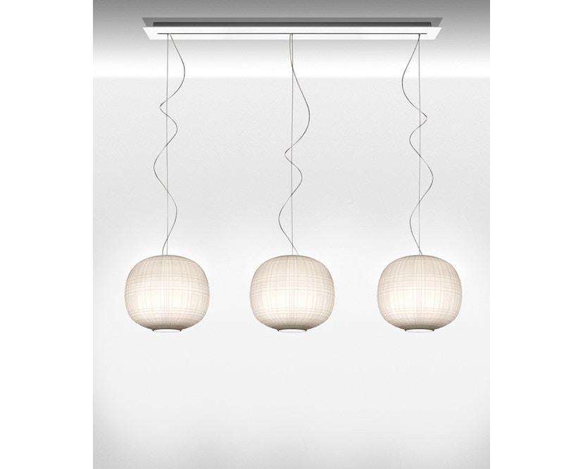 Foscarini - Tartan Hängeleuchte LED - bianco - 3