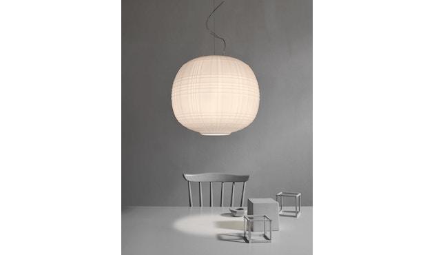 Foscarini - Tartan Hängeleuchte LED - bianco - 4