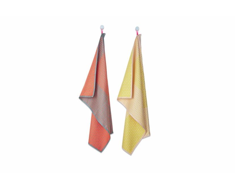 HAY - Trockentücher S&B Tea Towels Dot - 52 x 75 cm - Layer Dots - 1