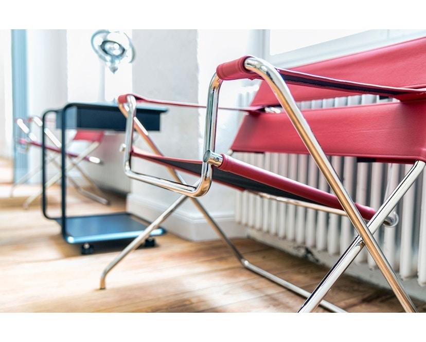 Tecta - D4 Bauhaus-Faltsessel- mit PTFE- Gleitern - grau - 10