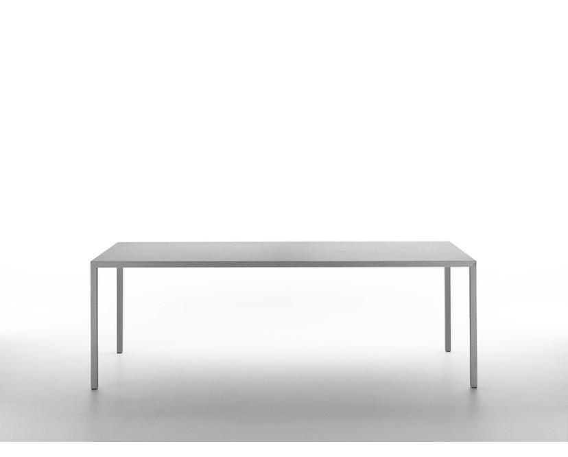 MDF Italia - Tense Material Tisch - Stein - 90 x 160 - 2