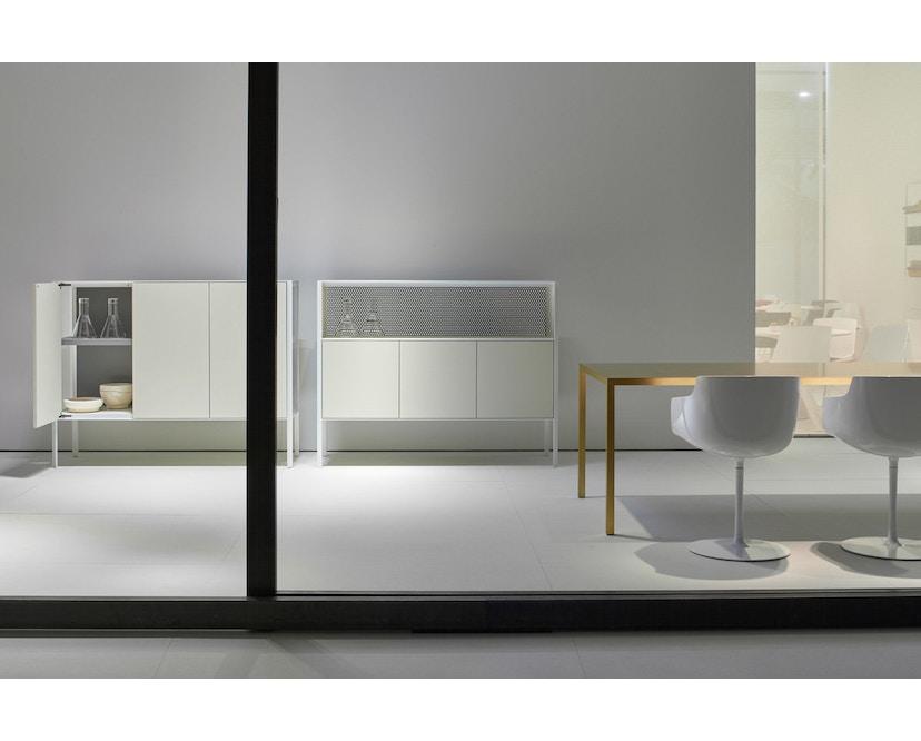 MDF Italia - Tense Material Tisch - Stein - 90 x 160 - 6