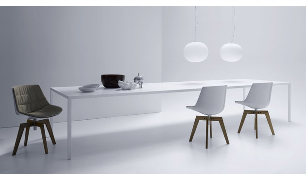 MDF Italia - Tense tafel - 90 x 160 - wit - 3