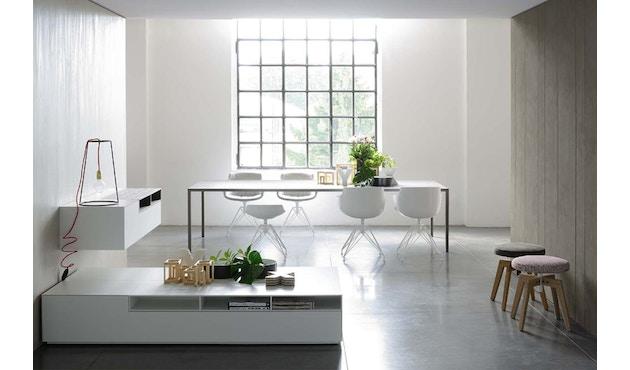 MDF Italia - Tense tafel - 90 x 160 - wit - 4