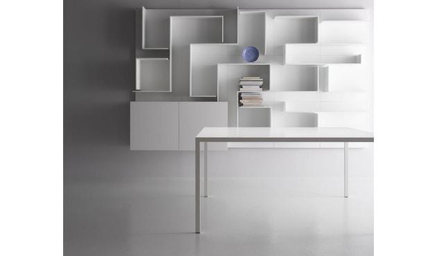 MDF Italia - Tense tafel - 90 x 160 - wit - 5