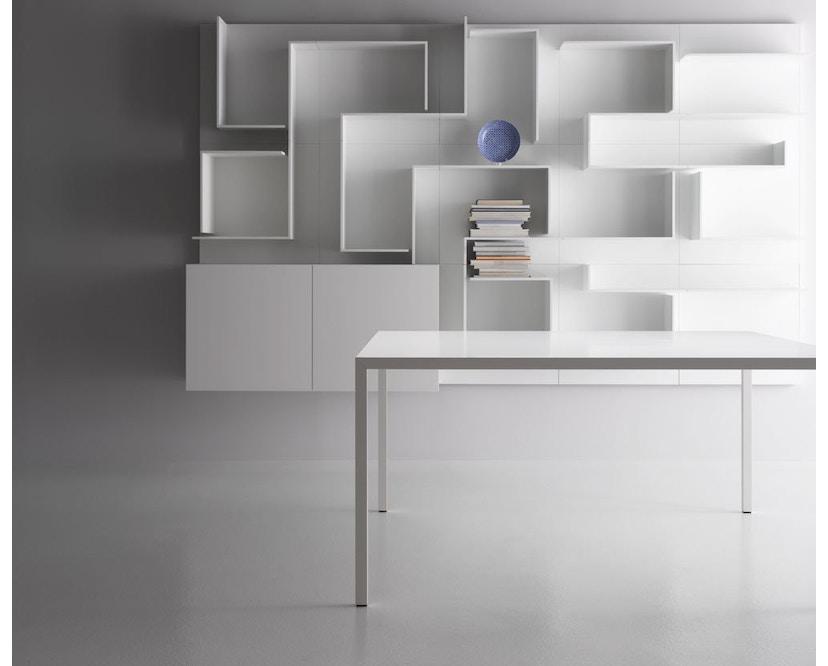 MDF Italia - Tense Tisch - weiß - 90 x 160 cm - 5