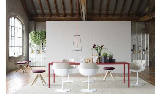 MDF Italia - Tense tafel - 90 x 160 - wit - 6