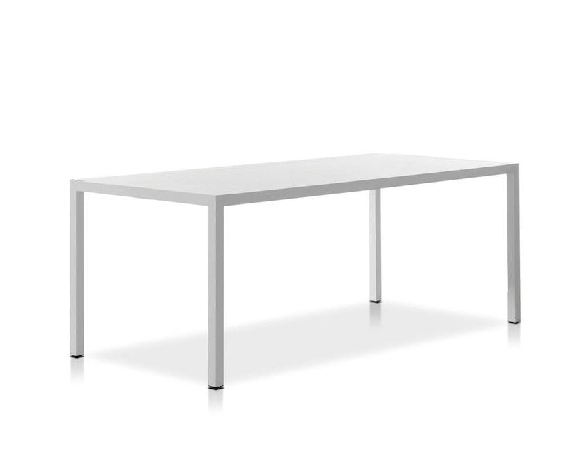 MDF Italia - Tense tafel - 90 x 160 - wit - 1