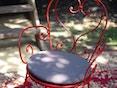 Fermob - the BASICS Outdoor Kissen für die Sessel 1900 Ø 43 cm - 54 Grau - 2