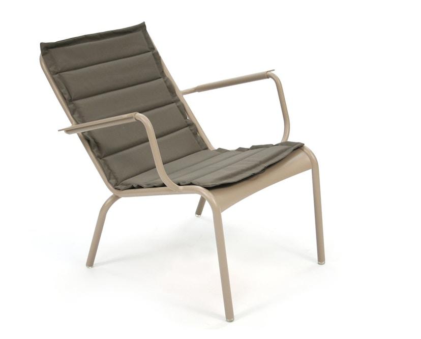 Fermob - the BASICS Outdoor Kissen für Tiefen Sessel Luxembourg - 54 Grau - 6