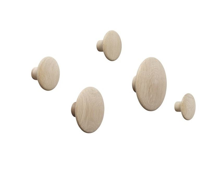 Muuto - The Dots Set - oak - 4