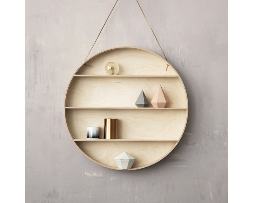 ferm LIVING - The Round Dorm Wandregal - 6