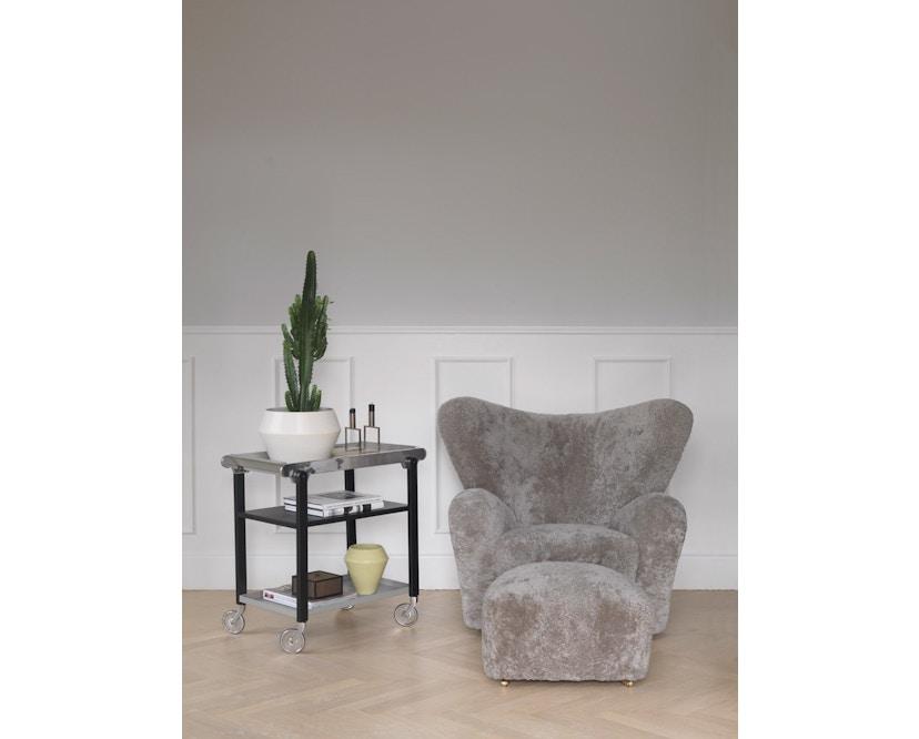by Lassen - The Tired Man voetenbank - Hallingdal 130 - grijs gevlekt - 6