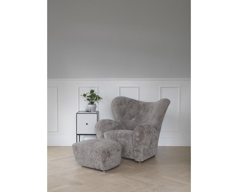 by Lassen - The Tired Man voetenbank - Hallingdal 130 - grijs gevlekt - 7