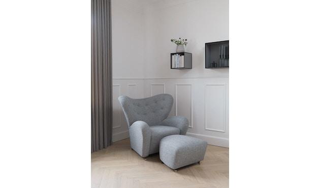by Lassen - The Tired Man voetenbank - Hallingdal 130 - grijs gevlekt - 2
